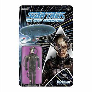 "Super7 ReAction Star Trek The Next Generation 3.75"" Borg Drone Action Figure"