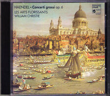Commerce 5 Concerti lécules op.6 william Christie CD 1995 les Arts florissants