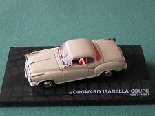 Borgward Isabella Coupe 1957-1961 Ixo 1:43 Modellauto Oldtimer