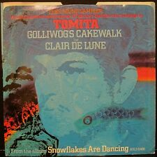 "TOMITA ""Golliwog's Cakewalk"" RCA PROMO 45rpm w/ Picture Sleeve - EX Condition"