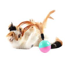 1x  Feather Tumbler Activity Creative Play Toys for Pet Cat Dog Kitten UK Hot