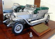 Franklin Mint 1/24 Scale Diecast FMG 1907 Rolls Royce Silver Ghost Display case
