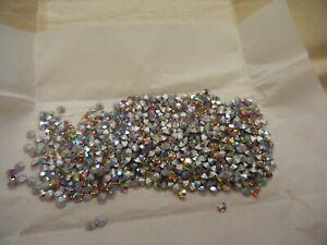 144 swarovski rhinestones,19ss light topaz AB #1100
