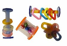 BIRD Toy foot toy acrylic parrot medium large package