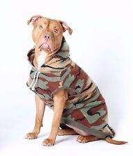 CAMOUFLAGE DOG HOODIE: Staffy Hoodie / Pitbull Hoodie / Bull Breed Hoodie