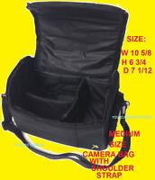 MEDIUM/LARGE BAG CASE to> CAMERA NIKON DSLR D3000 D3100 D3100 D3300 D3400 D3500