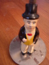 Unique Vintage Charlie McCarthy figurine/light with base, repainted