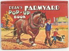 Dean's Farmyard Pop-Up Book  1970   3 Pop-ups