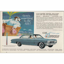 1961 GM Harrison Air Conditioning: Theres Something in the Air Vintage Print Ad