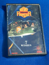 Night Ranger Cassette Tape 7 Wishes MCA 5593