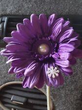 Purple VW flower  Gerbera pearl & snowflake VW Beetle SEE OUR WHOLE RANGE