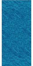 """18x33x52"""" Ft Oval Unibead Pacific Ice Above Ground Swimming Pool Liner-25 Gauge"""