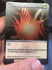 Chaotic Tcg Card Alliances Unraveled Interlude Of Interruption Rare LP/NM Mugic