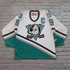Vintage Anaheim Mighty Ducks Paul Kariya Jersey by Nike Size 48 1995-96