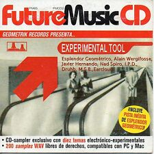 "ESPLENDOR GEOMETRICO ""CHILE AL DIA"" UNRELEASED TRACK IN SPANISH ""FUTURE MUSIC""CD"