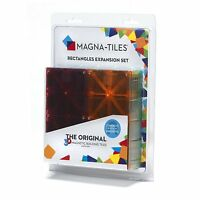 Magna-Tiles 15816 Rectangles 8 Piece Expansion Set Magnetic Building Toys