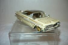 JADA 1959 Chevrolet Impala Low Rider - Rubber Tires - Homie Rollerz - Tan/Beige