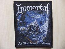 Aufnäher - Patch - Immortal - At The Heart Of Winter - Satyricon - Darkthrone