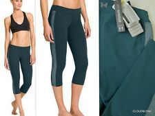 NWT UNDER ARMOUR StudioLux Size S STREET SLEEK Sport capri  leggings