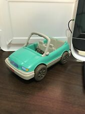 Fisher Price Loving Family Dollhouse Green Convertible Car