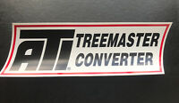 ATI TREEMASTER CONVERTER Decal STICKER DRAG RACING NASCAR NHRA Street OuTlaws