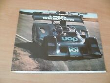 (2)  POSTER COMPETION AUTOMOBILE ANNEES 70  CANAM 73 39 X 29 CM