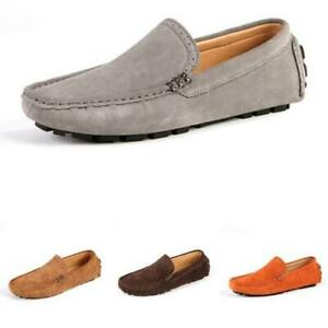 5 Color Mens Driving Moccasins Shoes Pumps Slip on Loafers Soft Comfy Outdoor L