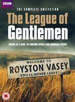Nuovo The League Of Gentlemen Collezione Completa DVD
