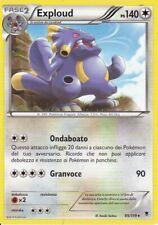 CARTA POKEMON - EXPLOUD - 85/119 - PS 140 - RARA - IN ITALIANO
