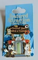 WDW Featured Attraction Collection 2008 Mickey Minnie Tower of Terror Pin 60336