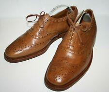 Grenson 100% Cuero Zapatos Para Hombre Formales Smart Bronceado Natural Mustang grano Talla 7