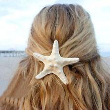 Women Girl Starfish Hairclip Mermaid Barrette Sea Star Hairclip Hairpin Beach