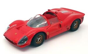 Jouef Evolution 1/24 Scale Model Car JE01 - Ferrari 330 P4 - Red
