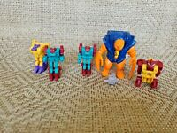 Vintage Transformers 1989 Takara G1 Monstructor Icepick Lot
