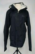 Patagonia Men's Black Lightweight Rain Coat Size L With Hood