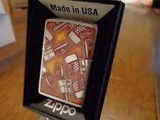 ZIPPO CAR POP ART DESIGN ZIPPO LIGHTER MINT IN BOX