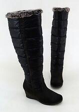 Kniehohe Stiefel aus Kunstleder mit normaler Weite (F) für die Freizeit