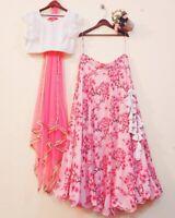 New Fancy Party Wear designer Wedding Lehnga Choli women Ethnic Lehnga Choli