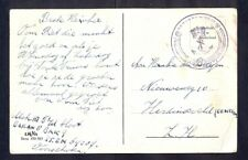 8879 Netherlands,illustrated comical navy postcard with Netherlands navy cancel