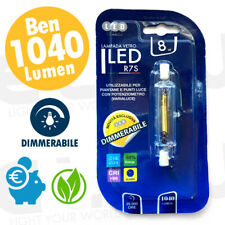 LAMPADINA LED 8W R7S 78mm DIMMERABILE GREEN BIANCO CALDO / NATURALE / FREDDO