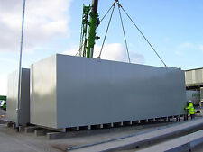 50,000 Litre Steel Bunded Diesel Fuel storage tanks by Fuel Safe UK
