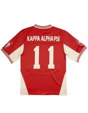 Kappa Alpha Psi Red short sleeve football jersey Nupe Football jersey