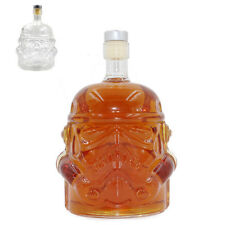 Star Wars Glass Stormtrooper Wine Bottle Whisky Liquor Alcohol Clear Decanter