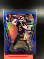 2020 Panini Certified Blaker Mayfield Mirror Blue Refractor SP # To /75 Browns