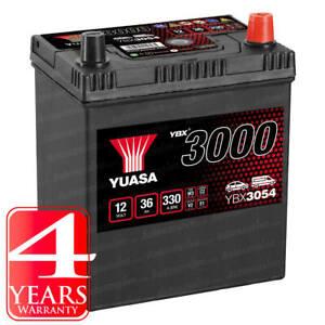 Yuasa Car Battery Calcium 12V 330CCA 36Ah T1/T3 For Honda Jazz MK2 1.3 1.4 i-DSi