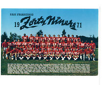 1971 SAN FRANCISCO 49ERS 8X10 TEAM PHOTO BRODIE NFL CALIFORNIA  FOOTBALL