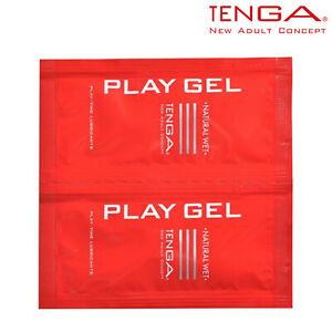 Tenga Play Gel Natural Wet Set 2x 8ml Lubricant Waterbased Lubrificante Naturale