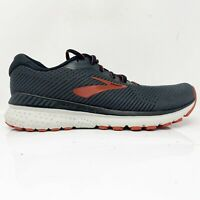 Brooks Mens Adrenaline GTS 20 1103071D029 Black Running Shoes Lace Up Size 10 D