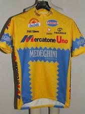 MAGLIA BICI CICLISMO SHIRT MAILLOT CYCLISM TEAM MERCATONE UNO NALINI tg. XL