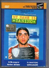 dvd MY NAME IS TANTIN Mario e Vittorio CECCHI GORI